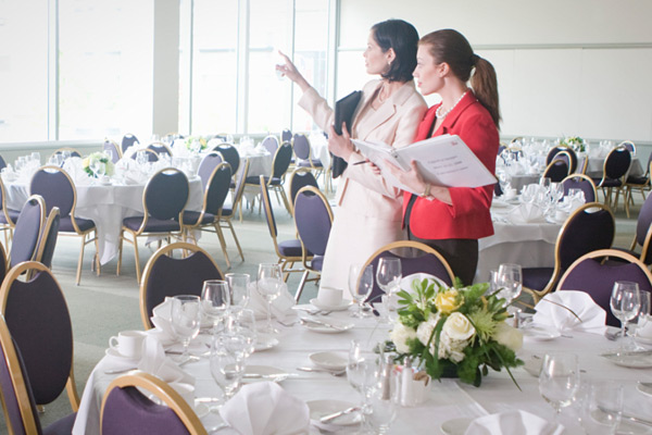 event planner what do you need to strive right angle event